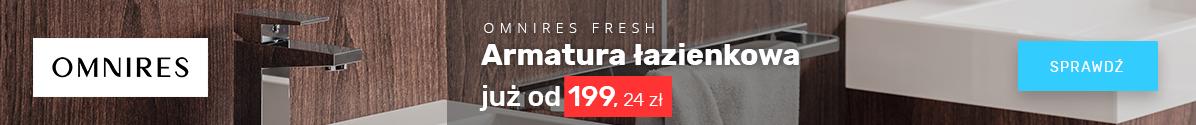 Zobacz Armatura łazienkowa Omnires Fresh