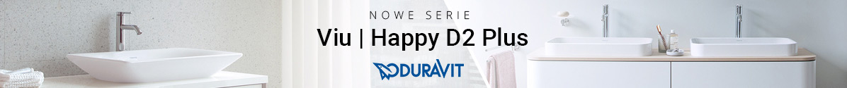 Zobacz Nowe serie Viu|Happy D2 Plus Duravit