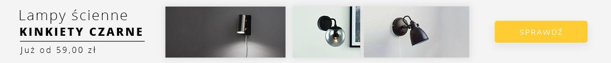 Zobacz Lampy ścienne - kinkiety czarne