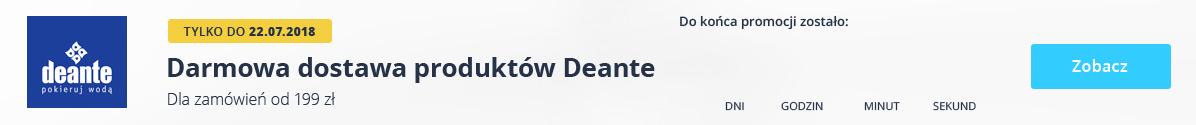 Zobacz Darmowa Dostawa Deante!