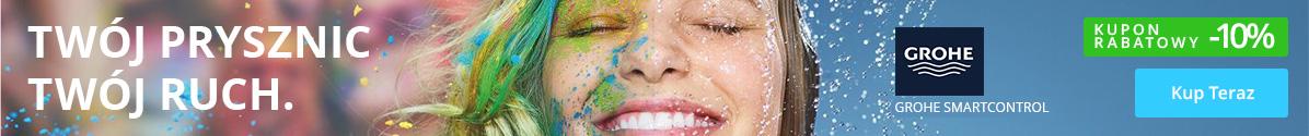 Zobacz Zestawy prysznicowe Grohe - kupon -10%!