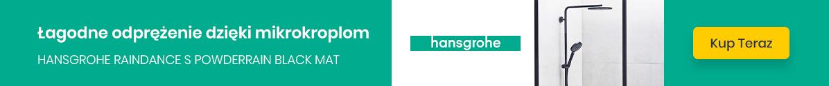 Zobacz Hansgrohe PowderRain black