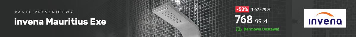 Zobacz Panel prysznicowy Invena