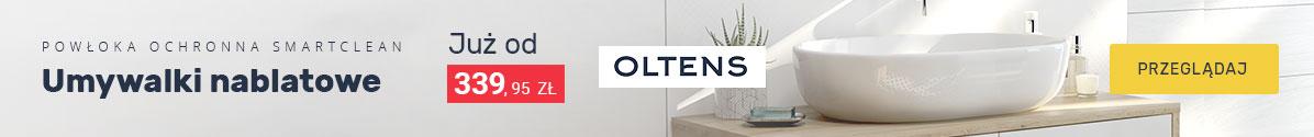 Zobacz Umywalki nablatowe z powłoką ochronną Oltens