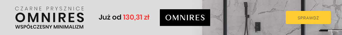 Zobacz Czarne prysznice Omnires
