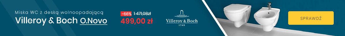 Zobacz Miska WC Villeroy & Boch O.Novo - 539 zł |-63%|