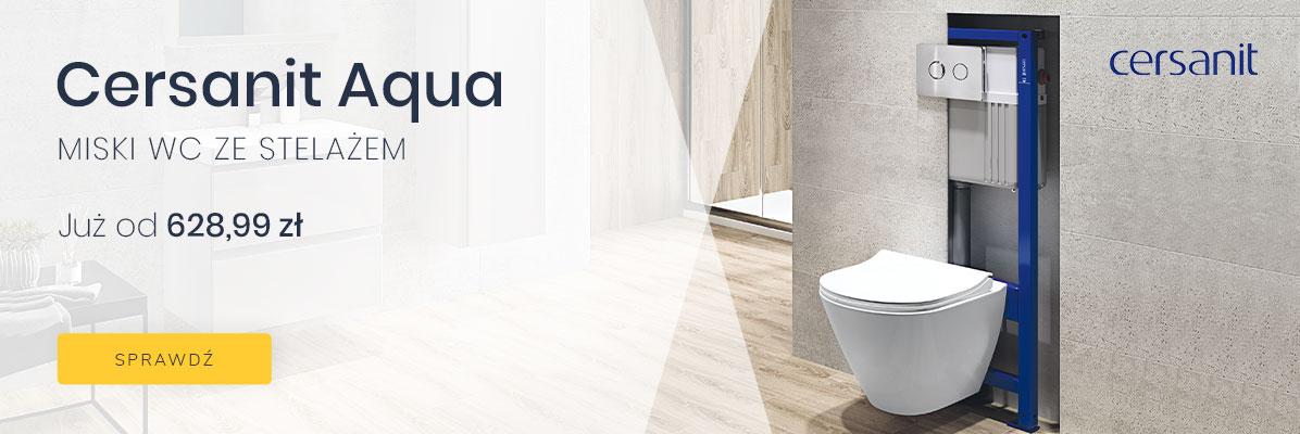 Zobacz Miski WC ze stelażem Cersanit Aqua od 628,99 zł!
