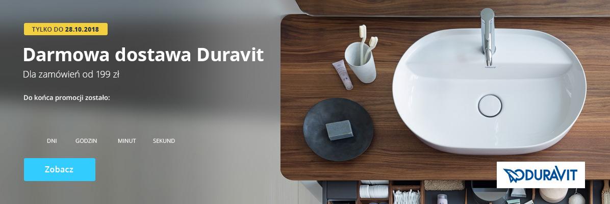 Zobacz Darmowa Dostawa Duravit!