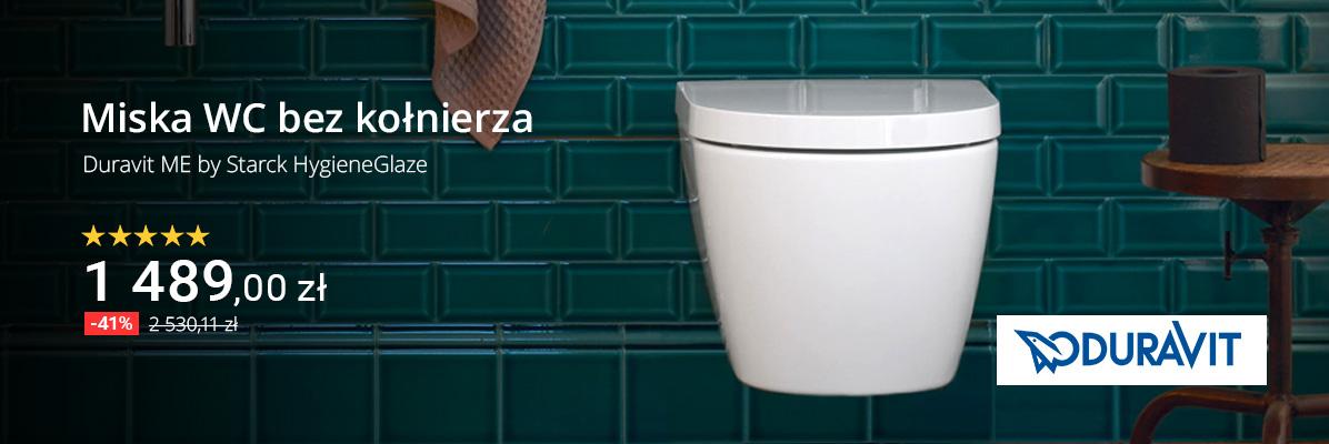 Zobacz Miska WC bez kołnierza Duravit ME by Starck