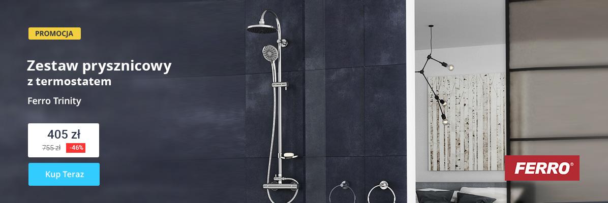Zobacz Zestaw prysznicowy z termostatem - 397 zł!