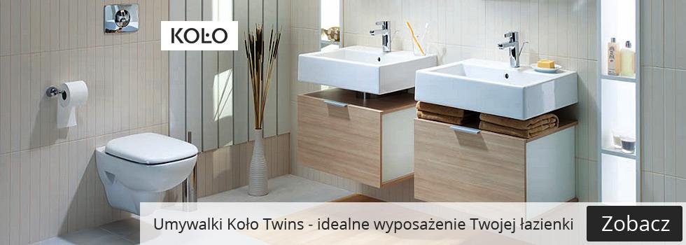 Umywalka Koło Twins