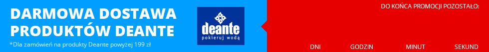 Darmowa dostawa produktów Deante