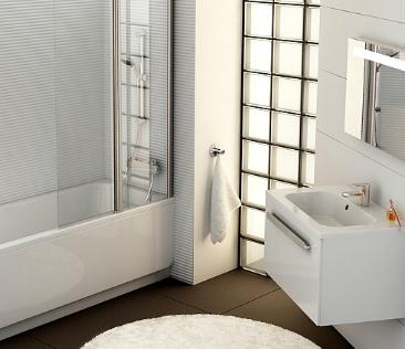 Aranżacja łazienki - minimalizm