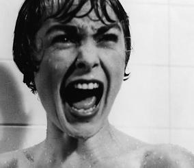 Scena pod prysznicem Psychoza