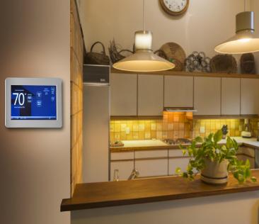 Sterownik pogodowy w kuchni