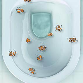 Miska WC z powłoką antybakteryjną