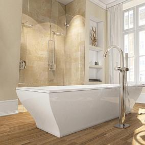 Luksusowa łazienka w kilku krokach