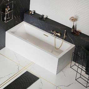 Znajdź odprężenie w łazience z wanną akrylową Heaven Slim