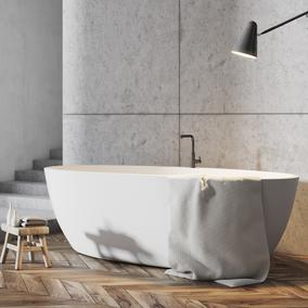 Połączenie drewna i betonu - jak stworzyć nowoczesną aranżację w łazience?
