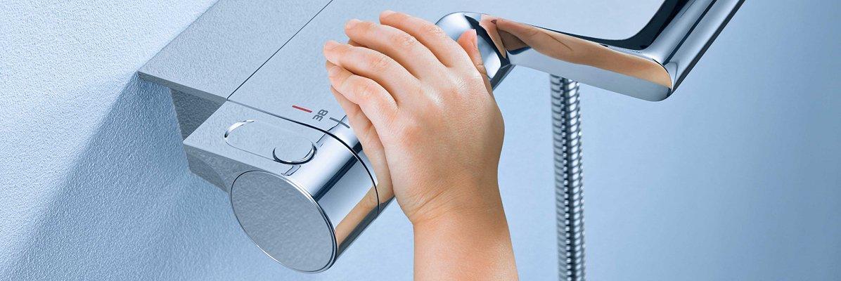 Bateria wannowo-prysznicowa termostatyczna