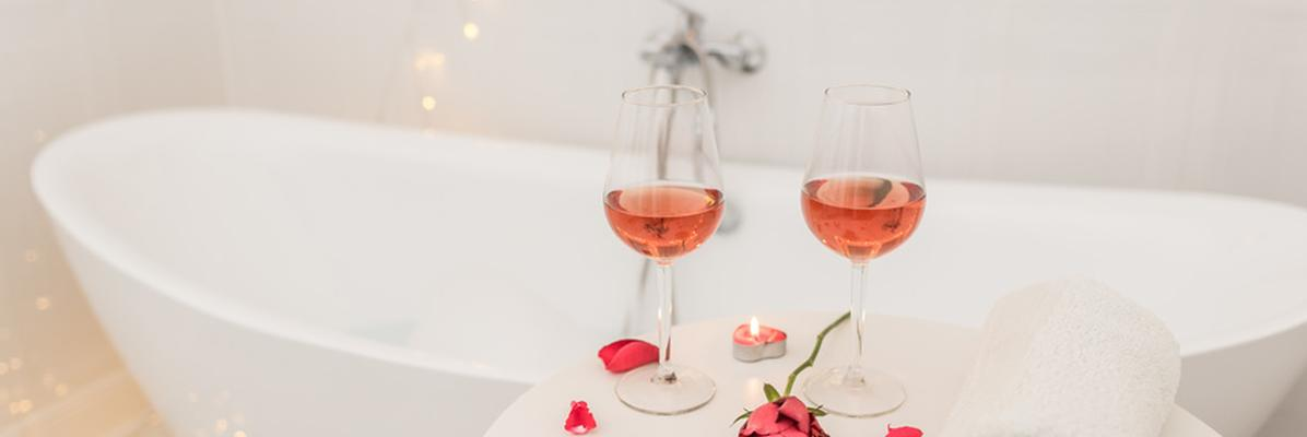 Romantyczna łazienka