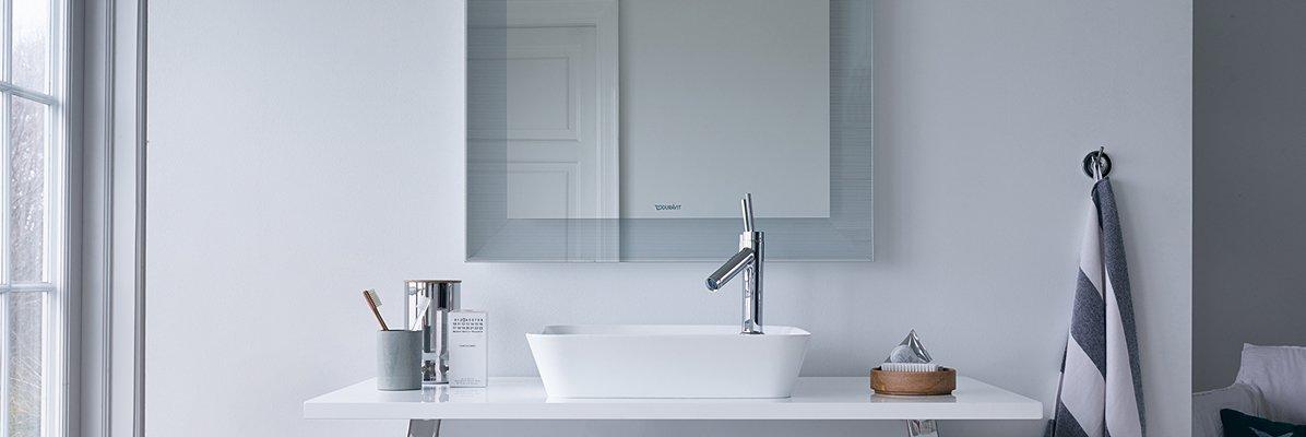 Aranżacja skandynawskiej łazienki firmy Duravit