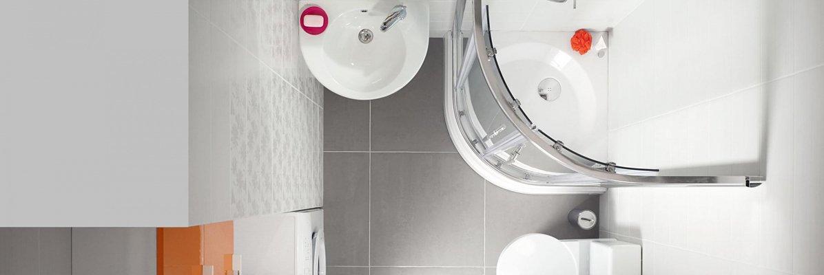 Wykorzystanie małej przestrzeni w łazience