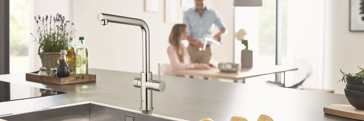 Bateria kuchenna Grohe Red Duo
