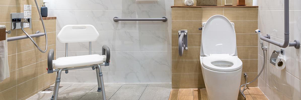 Toaleta dla osób z niepełnosprawnością