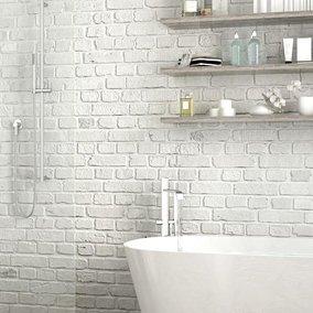 Łazienka z cegłą – nowoczesność w każdym calu