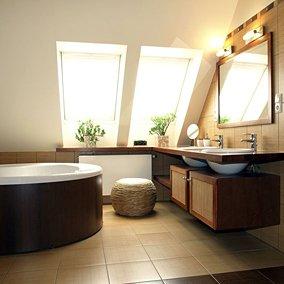 Nowoczesna łazienka na poddaszu: jak ją zaaranżować?