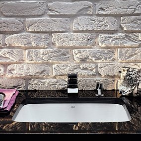 Łazienka w stylu rustykalnym – 16 pomysłów!