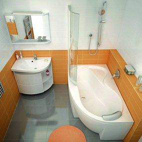 Mała łazienka z wanną – tak, to możliwe!