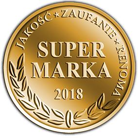 """Godło ,,Super Marka 2018"""" przyznane Łazienceplus.pl"""