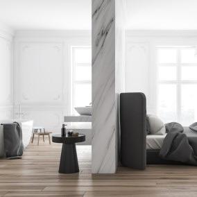 Master bedroom, czyli urządzamy pokój sypialno-kąpielowy