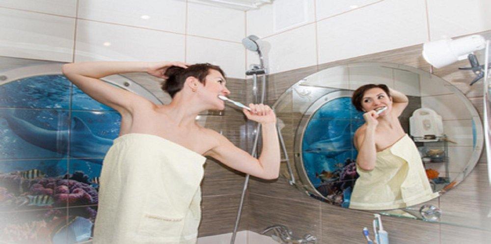 zainspiruj się -łazienka w stylu marynistycznym i greckim