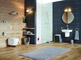 inspiracja: Grohe Wood and Stone