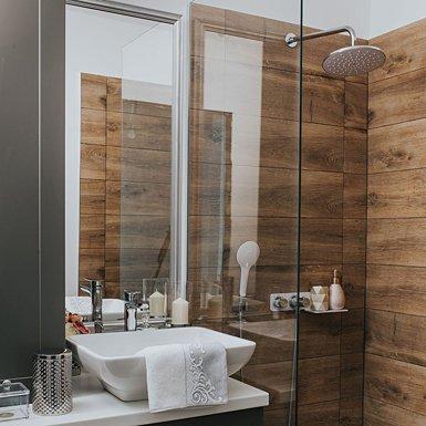 Deante Prysznic w Drewnie