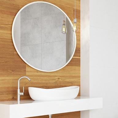 Ciepła łazienka w drewnie