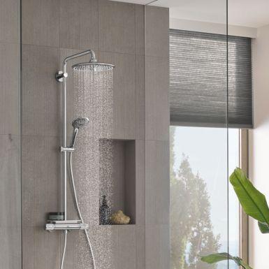 Energetyczny prysznic z GROHE