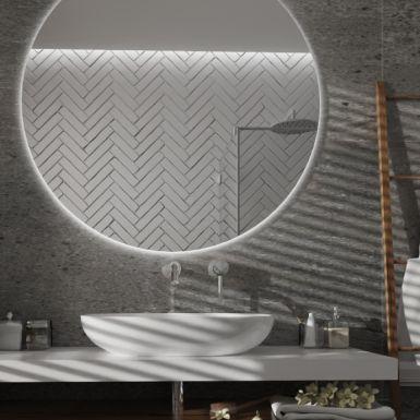 Industrialna łazienka w bloku