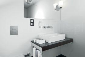 inspiracja: Grohe - biała nowoczesna łazienka