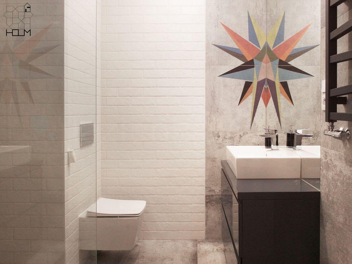 Industrialna łazienka