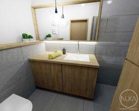 inspiracja: Łazienka w drewnie - postaw na skandynawską aranżację