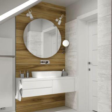 Przestronna łazienka z wanną i prysznicem
