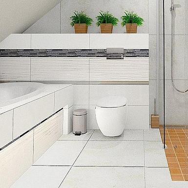 łazienka Ze Skosem Inspiracje Lazienkapluspl