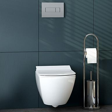 Deante Anemon zestaw z nowoczesną miską WC