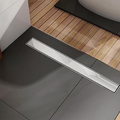 Odpływ liniowy w nowej łazience