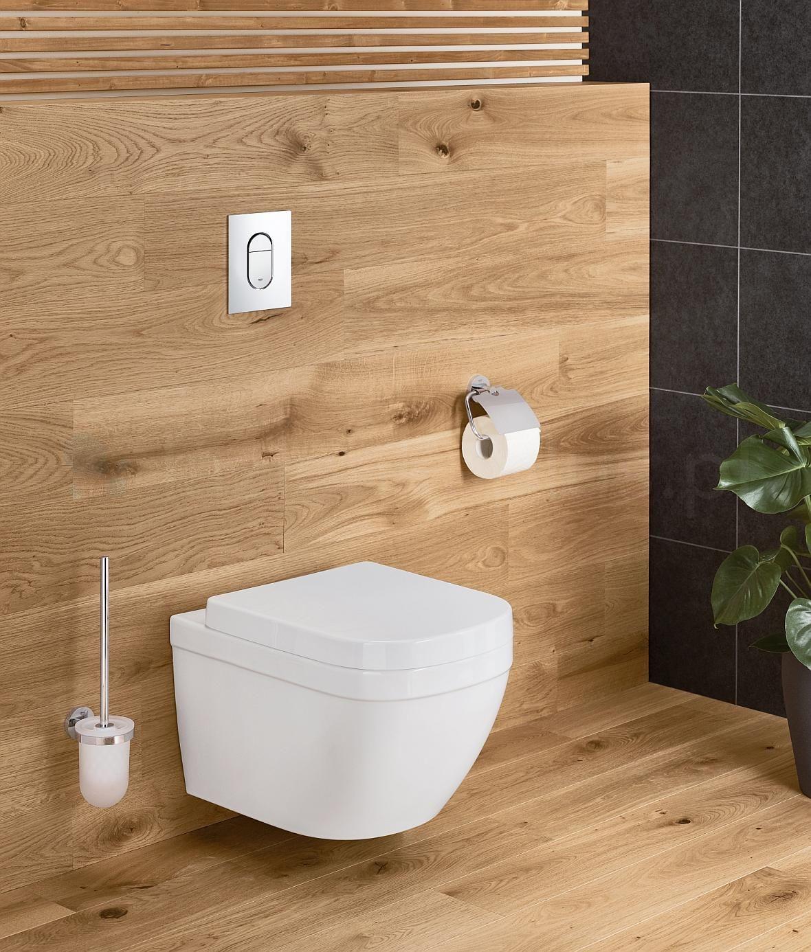 Grohe Euro łazienka W Drewnie Kuchnie I łazienki