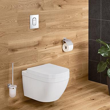 Grohe Euro - łazienka w drewnie